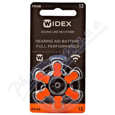 Baterie do naslouchadel Widex 13 6ks