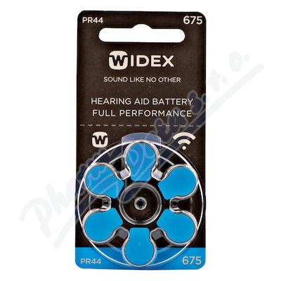 Baterie do naslouchadel Widex 675 6ks