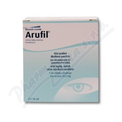 Arufil 20mg/ml oph.gtt.sol.3x10ml II