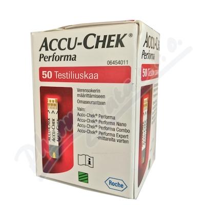 Accu-Chek Performa testovací proužky 50ks