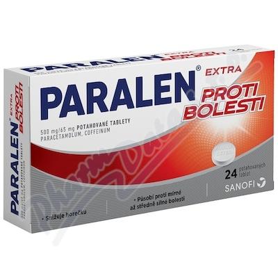 Paralen Extra proti bolesti 500/65mg tbl.flm.24
