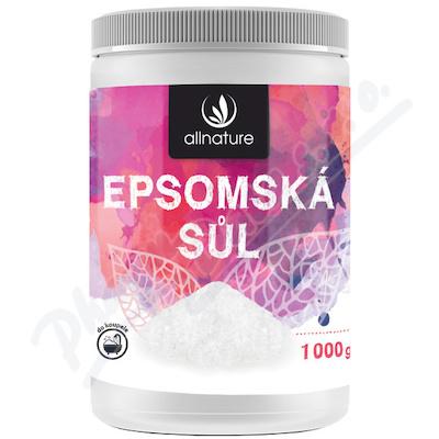 Allnature Epsomská sůl 1000g