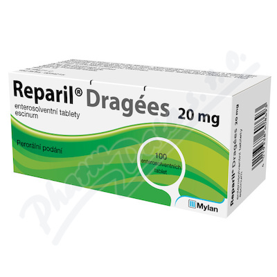 Reparil - Dragées 20mg tbl.ent.100