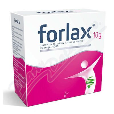 FORLAX 10g por.plv.sol.scc.20