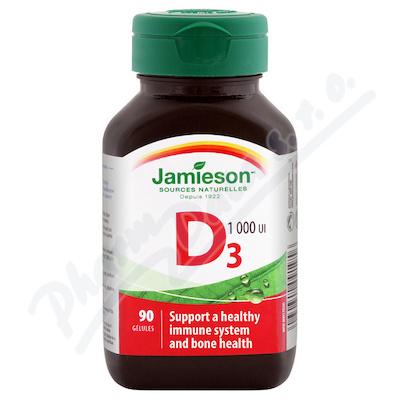 JAMIESON Vitamín D3 1000 IU cps.90
