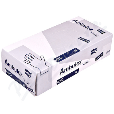 Ambulex Vinyl rukavice vinyl.nepudrované XL 100ks