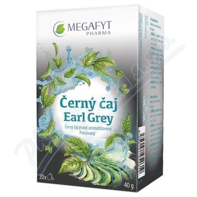 Megafyt Černý čaj Earl Grey 20x2g