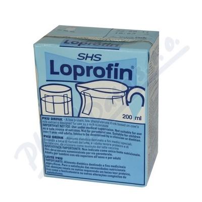 Loprofin PKU milk drink 200ml PKU