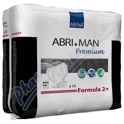 Inkont.vlož.Abri Man Prem.Formula 2 pro muže. 14ks