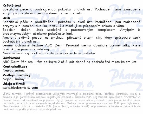 BIODERMA ABCDerm Péri-oral 40ml