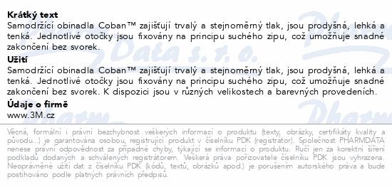 3M Coban elast.samofix.obin.7.5cmx4.5m 1ks červené